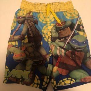 Nickelodeon TMNT swim trunks